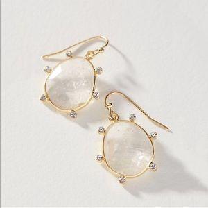 Anthropologie Earrings Gold Lola Drop